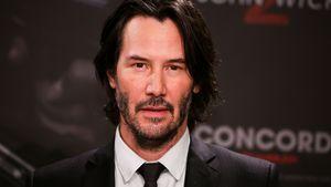 """Keanu Reeves bei der Pressekonferenz zu """"John Wick: Chapter 2"""" in Berlin"""