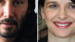Keanu Reeves und Juliette Binoche