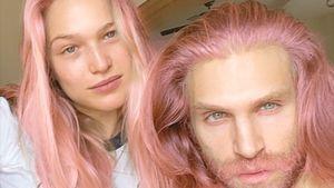 Krasse Veränderung bei Keegan Allen: Er hat pinke Haare!