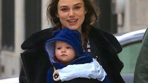Keira Knightley und ihre Tochter Edie