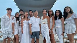 Aus dem Urlaub: Kelly Ripa teilt XXL-Familienschnappschuss