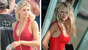 """Kelly Rohrbach im Vergleich zu Pamela Anderson bei """"Baywatch"""""""