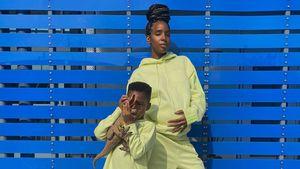 Heiß! Kelly Rowland modelt schwanger für Beyoncés Modelinie