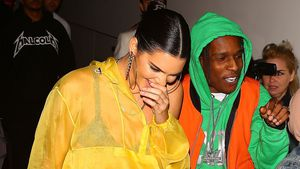 Kendall Jenner und ASAP in New York