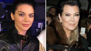 Model Kendall Jenner und Mutter Kris Jenner