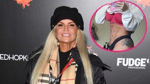 Zwölf Kilo weg dank Yoga: Kerry Katona zeigt Mega-Sixpack!