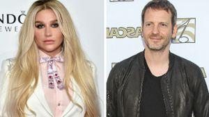 Pop-Star Kesha und Produzent Dr. Luke