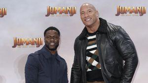 Kevin Hart und The Rock bald im UK-Dschungelcamp zu sehen