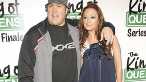 """King of Queens""-Stars Kevin James und Leah Remini"