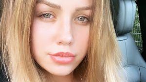 Lippen kleiner, Make-up weg: Kim Gloss plant Total-Make-over