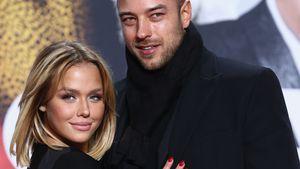 """Kim Gloss mit ihrem Freund Alexander Beliaikin bei der Premiere von """"Zoolander"""" in Berlin"""