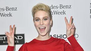 Kim Hnizdo bei der Berliner Fashion Week