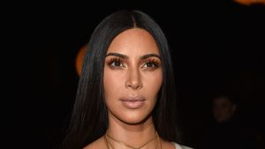 Kim Kardashian bei der Fashion Week in Paris