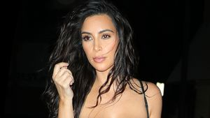Kim Kardashian auf dem Weg zum Dinner in Miami