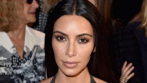 Kim Kardashian auf der Pariser Fashion Week 2016