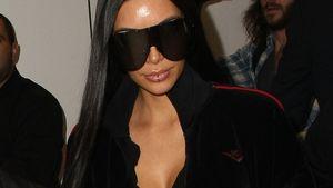 Kim Kardashian am Flughafen von Los Angeles