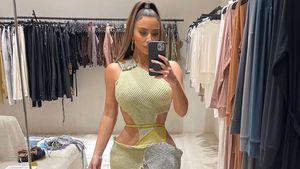 """""""Schicker Teppich"""": Fans spotten über Kim Kardashians Outfit"""