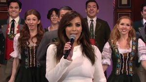 Sensation! Kim Kardashian singt für Jay Leno