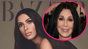 Nach Kennedy-Eklat-Cover: Kim Kardashian macht auf Cher!