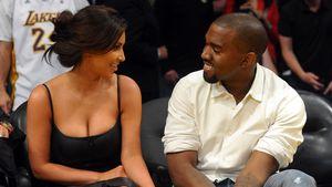 Kim Kardashian und Kanye West in LA