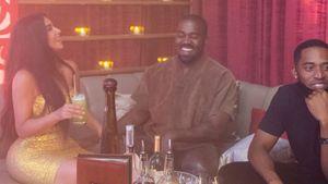 Alles wieder gut? Kim Kardashian und Kanye voll verturtelt
