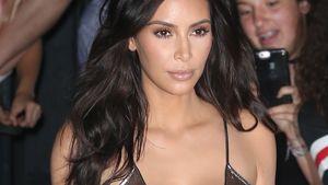 Kim Kardashian vor dem Kanye West-Konzert in New York