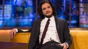 "Kit Harington in der Fernsehsendung ""The Jonathan Ross Show"" in London"