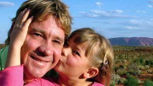 Steve und Bindi Irwin 2006 in Australien