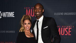 Kobe Bryant mit seiner Frau Vanessa 2015 in Hollywood