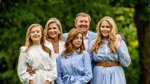 Neue fröhliche Familienfotos von den niederländischen Royals