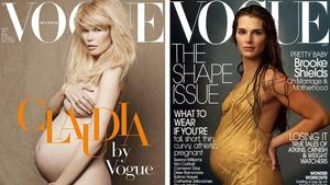 Beliebtes Cover: Schwangere Stars