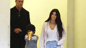 Kourtney Kardashian mit Sohn Mason Disick in Los Anegles