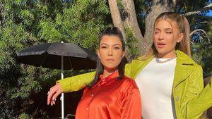 Zu fies? Kourtney Kardashian postet Schiel-Foto von Kylie