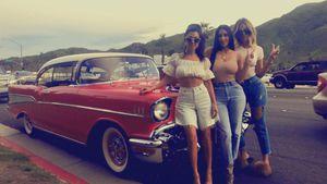 Kourtney, Kim und Khloe Kardashian