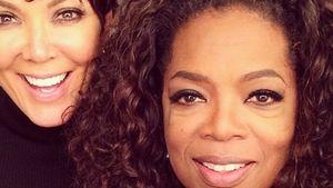 Kris Jenner und Oprah Winfrey