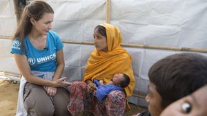 Star mit Herz: Kristin Davis setzt sich für Flüchtlinge ein!