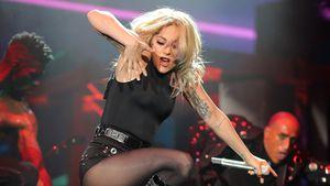 Lady Gaga auf der Coachella-Bühne