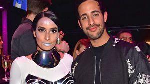 Lamiya und Sami Slimani bei der Maybelline New York Hot Trends Xhibition während der MBFWB
