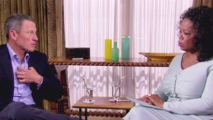 Oprah Winfrey und Lance Armstrong