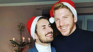 """""""Prince Charming""""-Paar Lars und Nico feiern Xmas zusammen"""