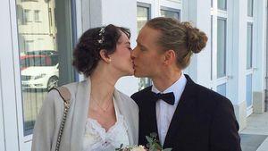 Zu Hochzeitsbild: GNTM-Girl Laura Bräutigam gibt Baby-Update