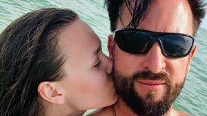 Fotos aufgetaucht: Wendler und Laura machen Speedboot-Trip