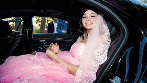 Erste Fotos! BTN-Mandy strahlt in knallpinkem Hochzeitskleid