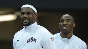 """LeBron James: """"Kein Tag, an dem ich nicht an Kobe denke"""""""
