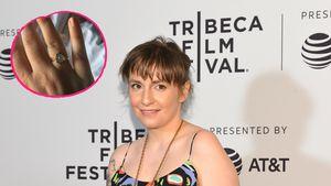 Trotz Liebes-Aus! Lena Dunham trägt weiterhin Ring vom Ex