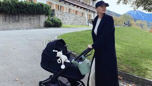 Lena Gercke genoss mit Baby Zoe ersten gemeinsamen Urlaub