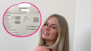 Sehr gut in Sport und Kunst: Leni Mariee zeigt ihr Zeugnis!