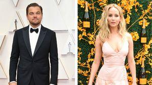 Für neuen Film: Leonardo DiCaprio und JLaw in anderem Look