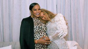 Mit Babybauch bei Beyoncé: Niedliche Destiny's Child-Reunion