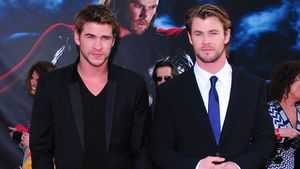 "Liam Hemsworth and Chris Hemsworth bei ""Thor""-Premiere in Los Angeles"